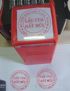 Nhận khắc dấu logo online giá rẻ, giao hàng tận nơi